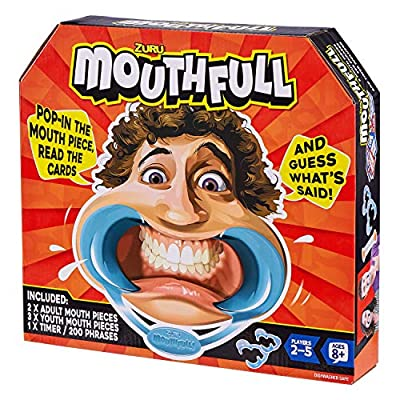 ZURU Mouthful Card Game: Toys & Games