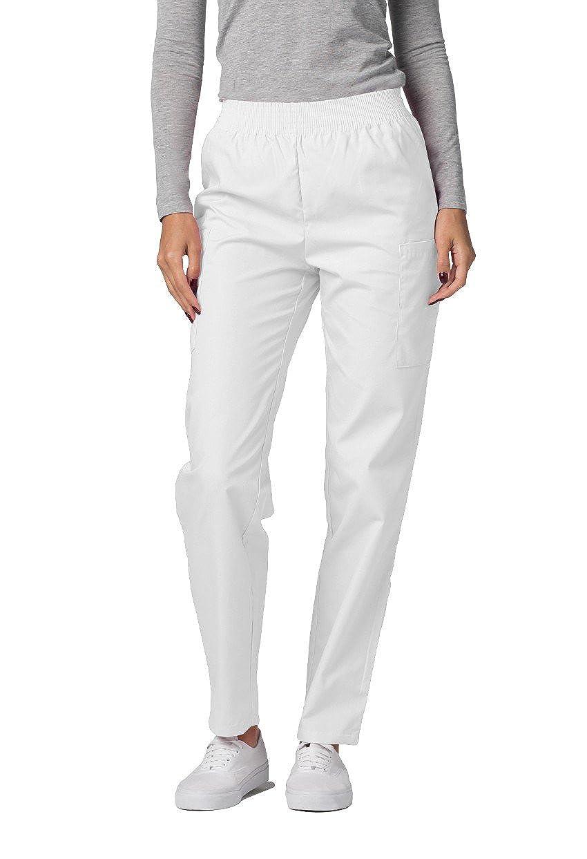 Pantaloni Camice Medico – Pantaloni da Donna Uniforme Ospedale - 503 Colore: WHT | Dimensione: S 503WHTS