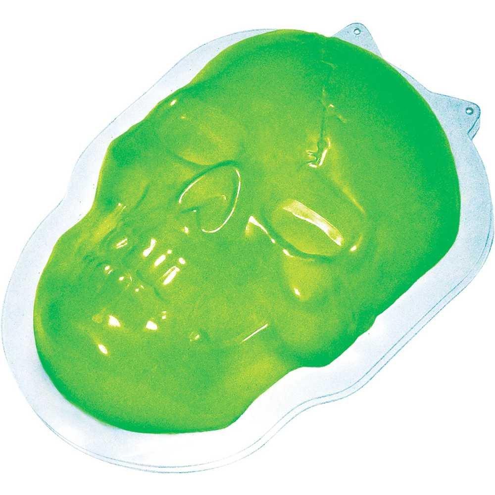 Skull Halloween Gelatin Mold