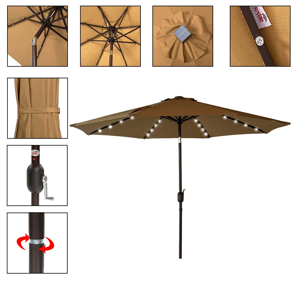 Sundale Solar Umbrella