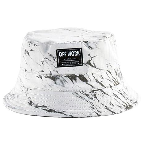 AJOG Cappello da sole Boonie secchio Hip Hop aebd5d5a1f8d