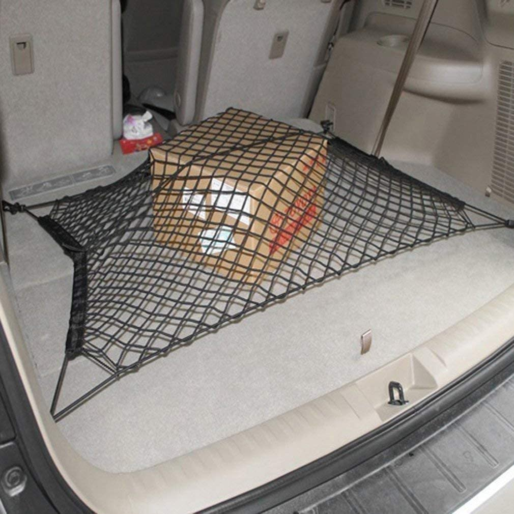 Ogquaton Premium Car Bagage Cargonet Trunk Filet Net Stretch /Élasticit/é Emp/êcher lespace de stockage Pratique