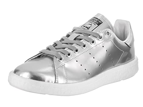 4a2e282bf adidas Stan Smith Women's Shoe Metallic Silver/Running White bb0108 (7 B(M