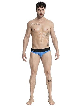Lantra Besa Herren Badehose Slips Bikini Bottom für Sommer Schwimmen mit Elasthan  Eng Elastisch Strand Bekleidung