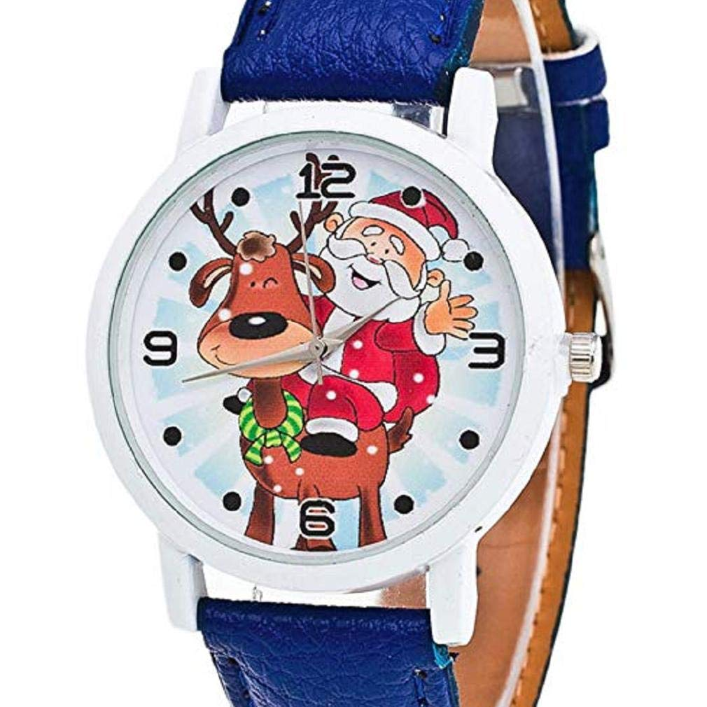 Quartz Watches Men's Watches New Brand Retro Leather Women Watches Fashion Denim Cartoon Girl Quartz Watch Ladies Monkey Dial Wrist Watch Relogio Feminino