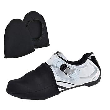 Funda de bloqueo para zapatos de bicicleta de montaña, para invierno, cálida, resistente