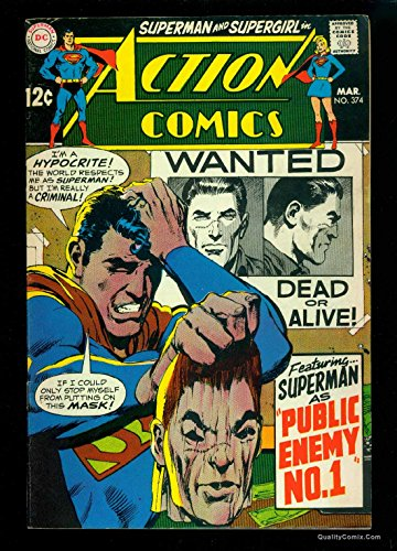 Action Comics #374 FN/VF 7.0 Tongie Farm Collection Pedigree