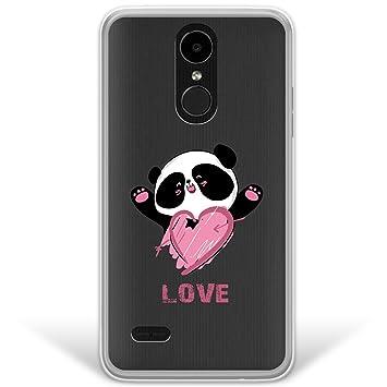 WoowCase Funda LG K4 2017 - K8 2017, [Hybrid ] Oso Panda y ...