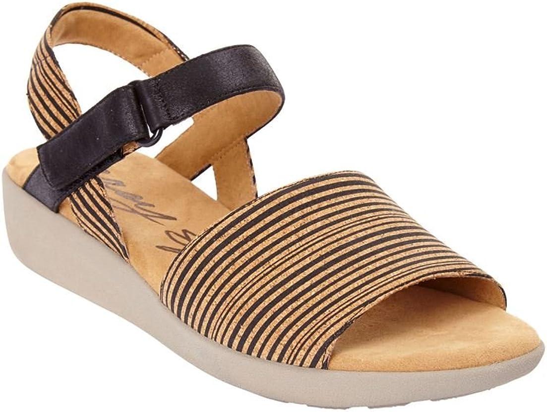 Woman Within Women's Wide Kala Sandals