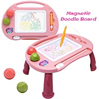 Magnetic Drawing Board,Toys for 1-2 Year Old Girls,Magna Erasable Doodle Board for...