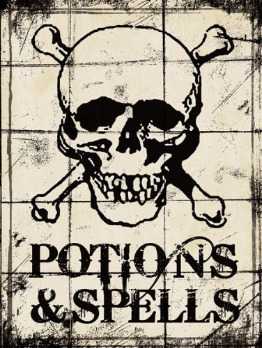 Potions and Spells - Halloween by Stephanie Marrott 12