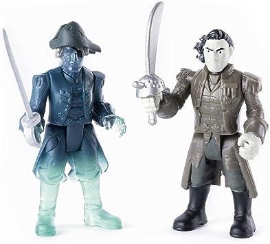 Spin Master Int Salazar Ghost Crewman - Pack de Dos Figuras de los Piratas del Caribe Salazar: Amazon.es: Juguetes y juegos