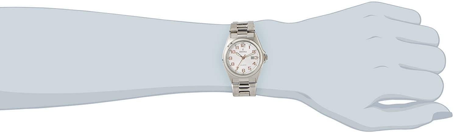 Amazon.com: Festina Classic F16375/7 Casual Womens watch Excellent readability: Watches