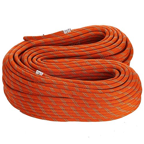 Camping Hiking Rope Diameter 14mm 1M Static Safety Rope Cord Rescue String For C