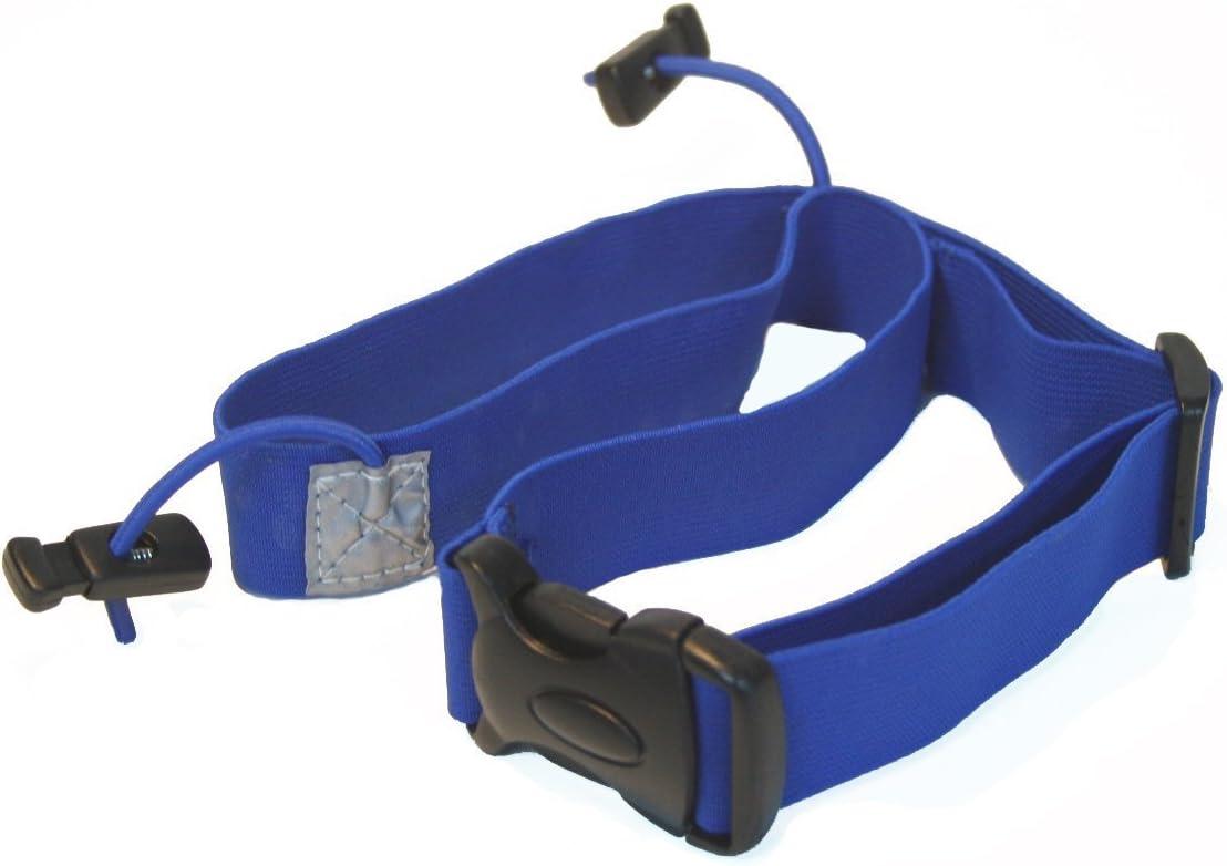 6/colores disponibles Triatl/ón Carrera N/úmero Cintur/ón reflectante para ni/ños f/ácil Lock