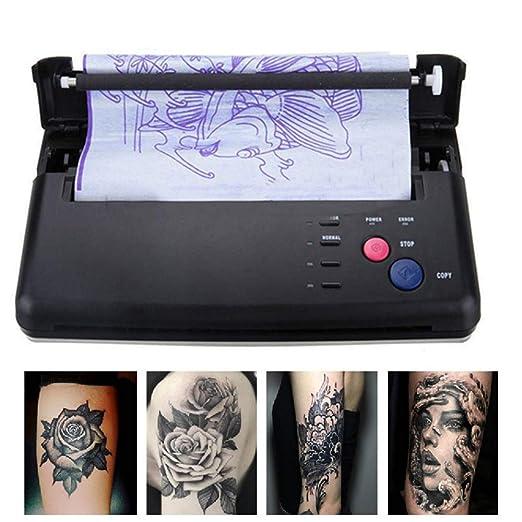 Amazon.com: Pro Negro Ligero Transfer tatuaje copiadora ...