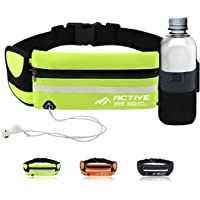 3AMGO Running Fanny Pack Belt - Jogging Cycling Hiking Walking Gym Outdoor Sports Activity Waist Pack for Personal…