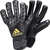 adidas ACE Pro Classic Soccer Goalkeeper Gloves (Dark Solar Green, Black)
