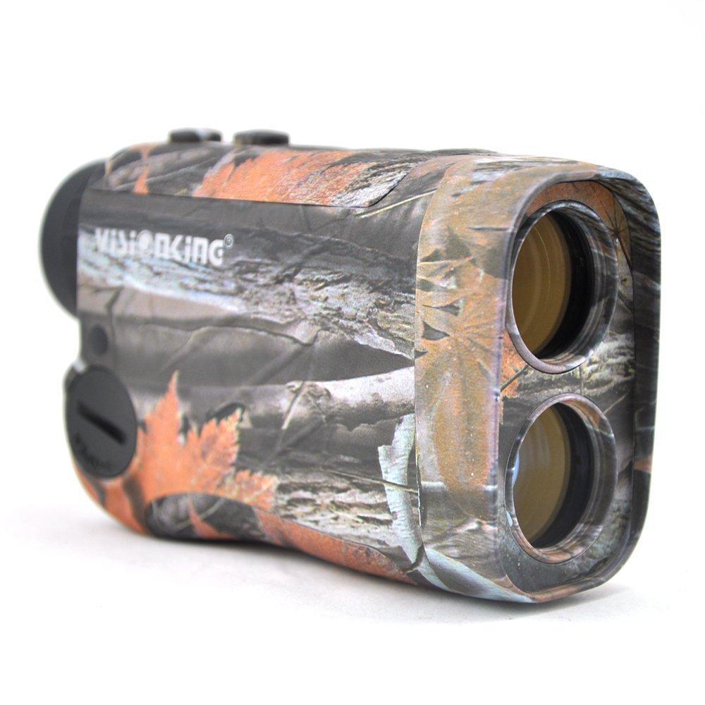 Visionking Range Finder 6x25 Laser Rangefinder for Hunting Rain Golf Model 600m (Camo)