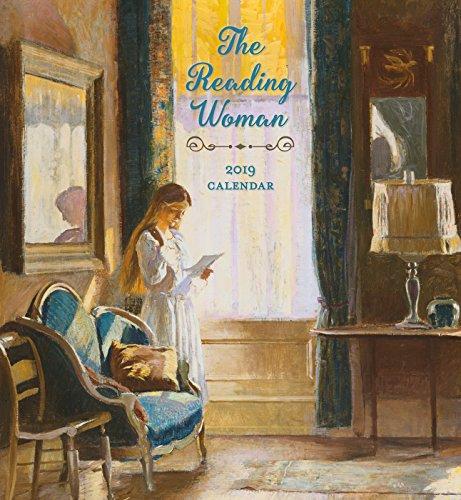The Reading Woman 2019 Wall Calendar (Women Calendar Reading)