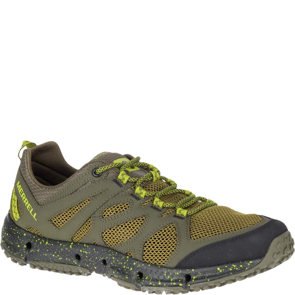 Merrell Men's HYDROTREKKER Water Shoe, Dusty Olive/Lime 13.0 M US