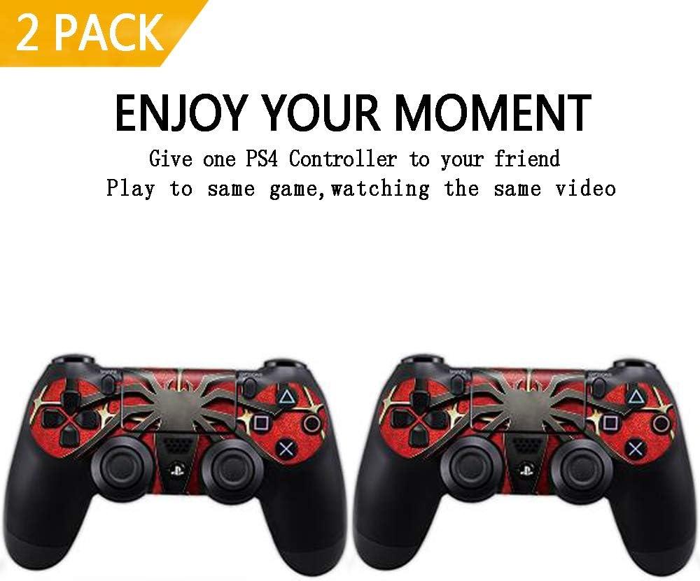 Ps4 Consola Pieles, compatible con Playstation 4 Consola Piel | PS4 Pieles | PS4 Adhesivos | PS4 Calcomanías | PS4 Skins Consola y Controlador | Ps4 Cover Skin Vinilo para PS4 (Spiderman PS4 Skin): Amazon.es: Electrónica