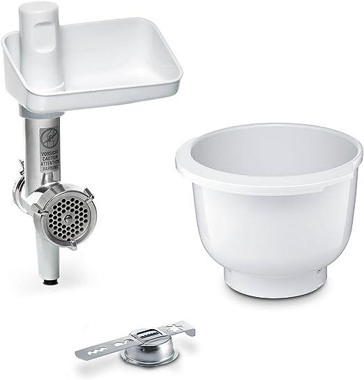 Bosch MUZ5BS1 - Robot de cocina (Blanco, 1,9 kg, De plástico, 200 mm, 80 mm, 120 mm): Amazon.es: Hogar