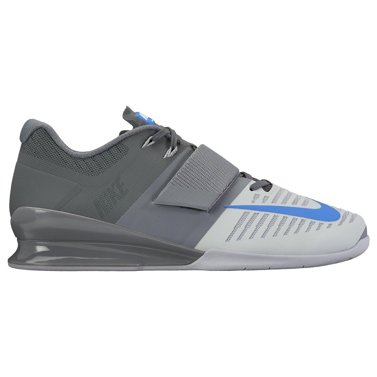Schwarz Weiß Cool Grau Nike Romaleos II Power Lifting