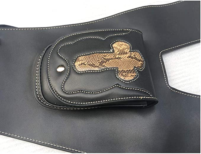 Motorrad Gastank Abdeckung Aus Leder Mit Tasche Für Honda Shadow 750 04 11 C2 C4 Rc50 Auto