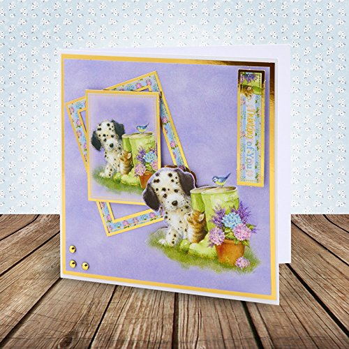 Hunkydory Return of the Little Paws Luxury Collection with 8 Topper Sets Card Kits by HunkyDory Crafts (Image #3)