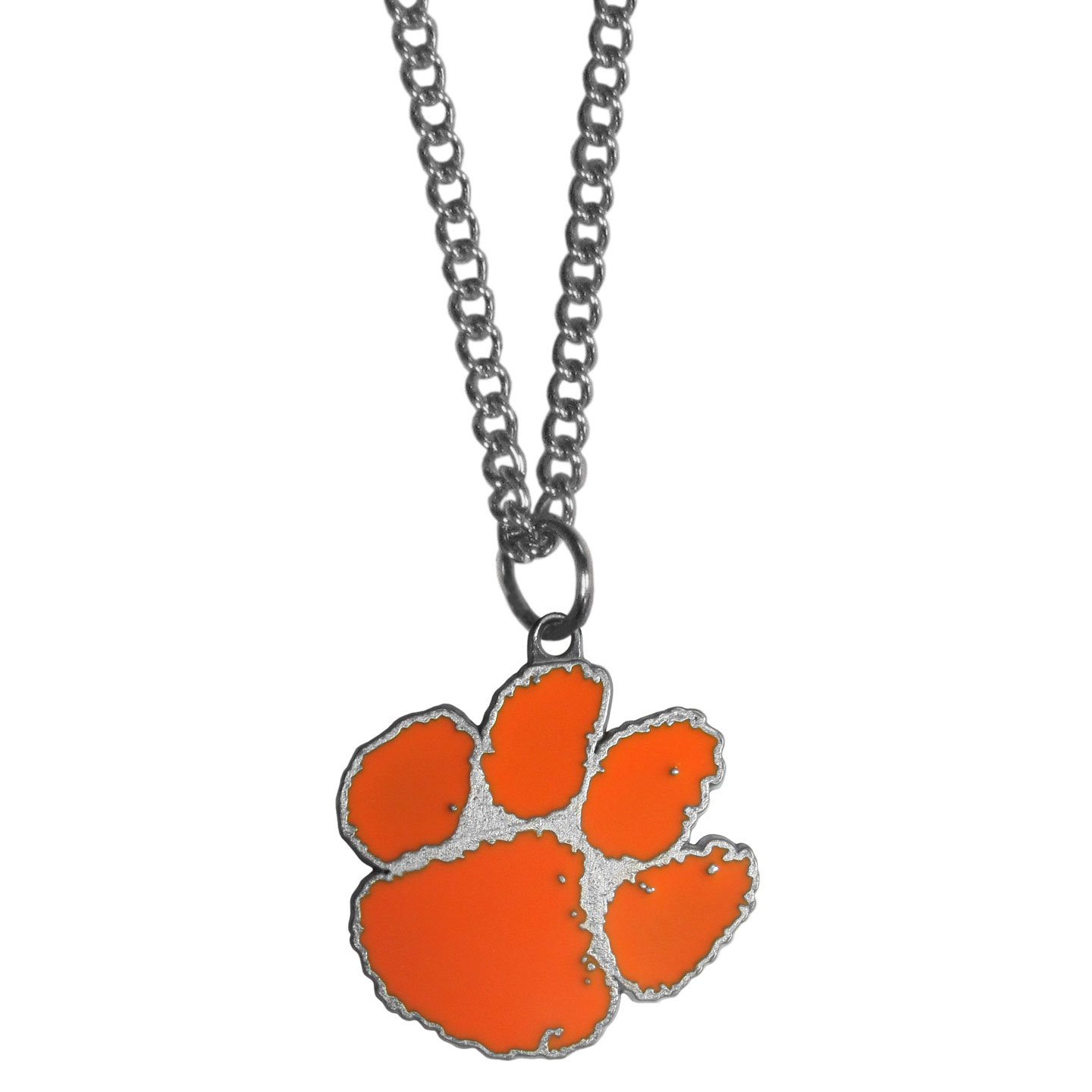bangle bracelet wrapped tiger jewelry football wire paw pin gameday clemson pendant
