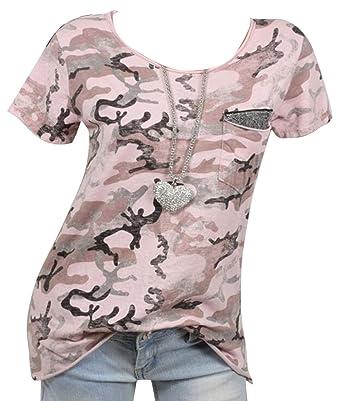 f3ca73b81c07b SHOWNO-Women Summer Slim Fit Short Sleeve Sexy Camouflage Printing ...