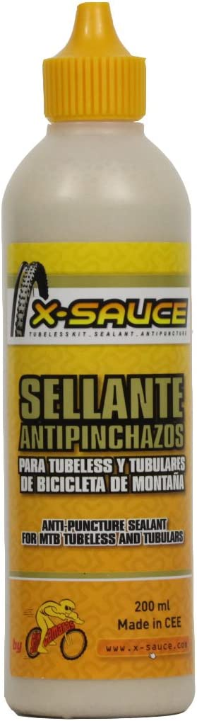 X-Sauce Sellante antipinchazos para tubeless (MTB) Anti Pinchazos ...
