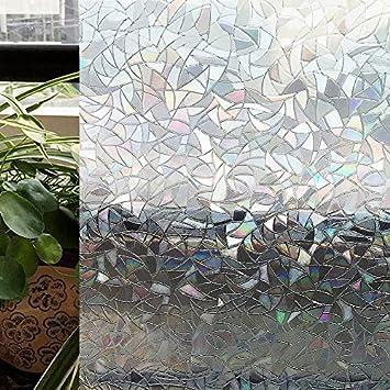Zoostliss Dekorativer Sichtschutz Fur Fenster 3d Kein Kleber