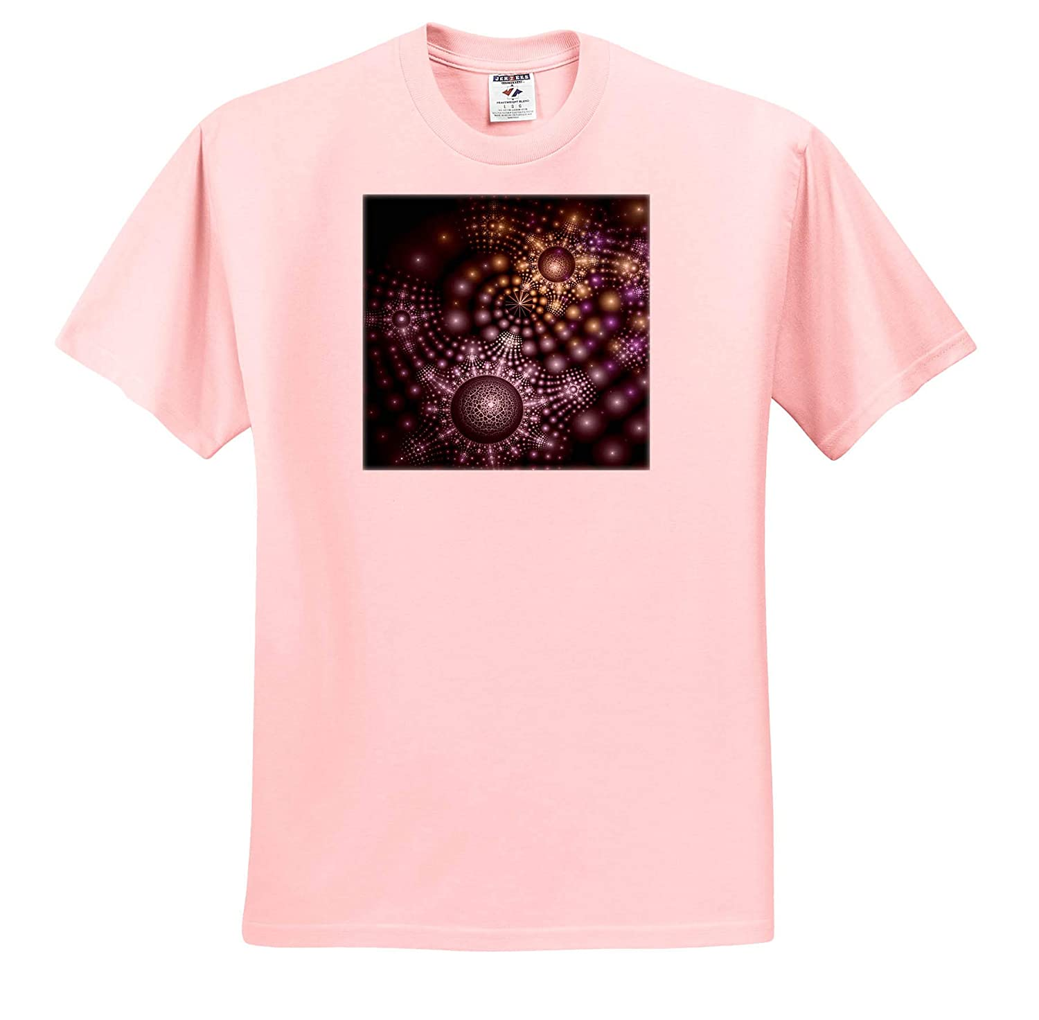 T-Shirts Modern Fractal Science Fiction Design 3dRose Andrea Haase Abstract Art and Design