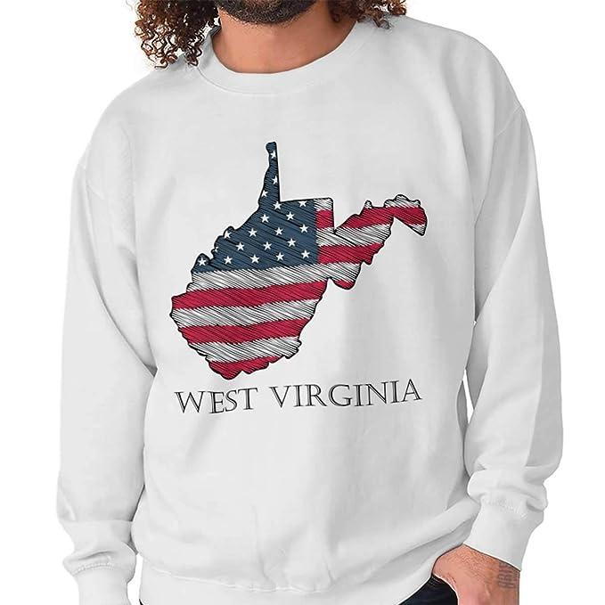 Amazon.com: West Virginia United States Patriotic Map ...