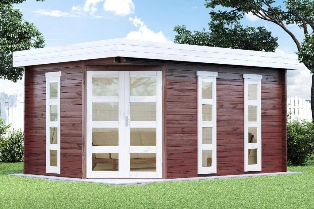 2 x Lüftungsgitter für Gartenhaus Gerätehaus Blockhaus Holzhaus Holz Schuppen