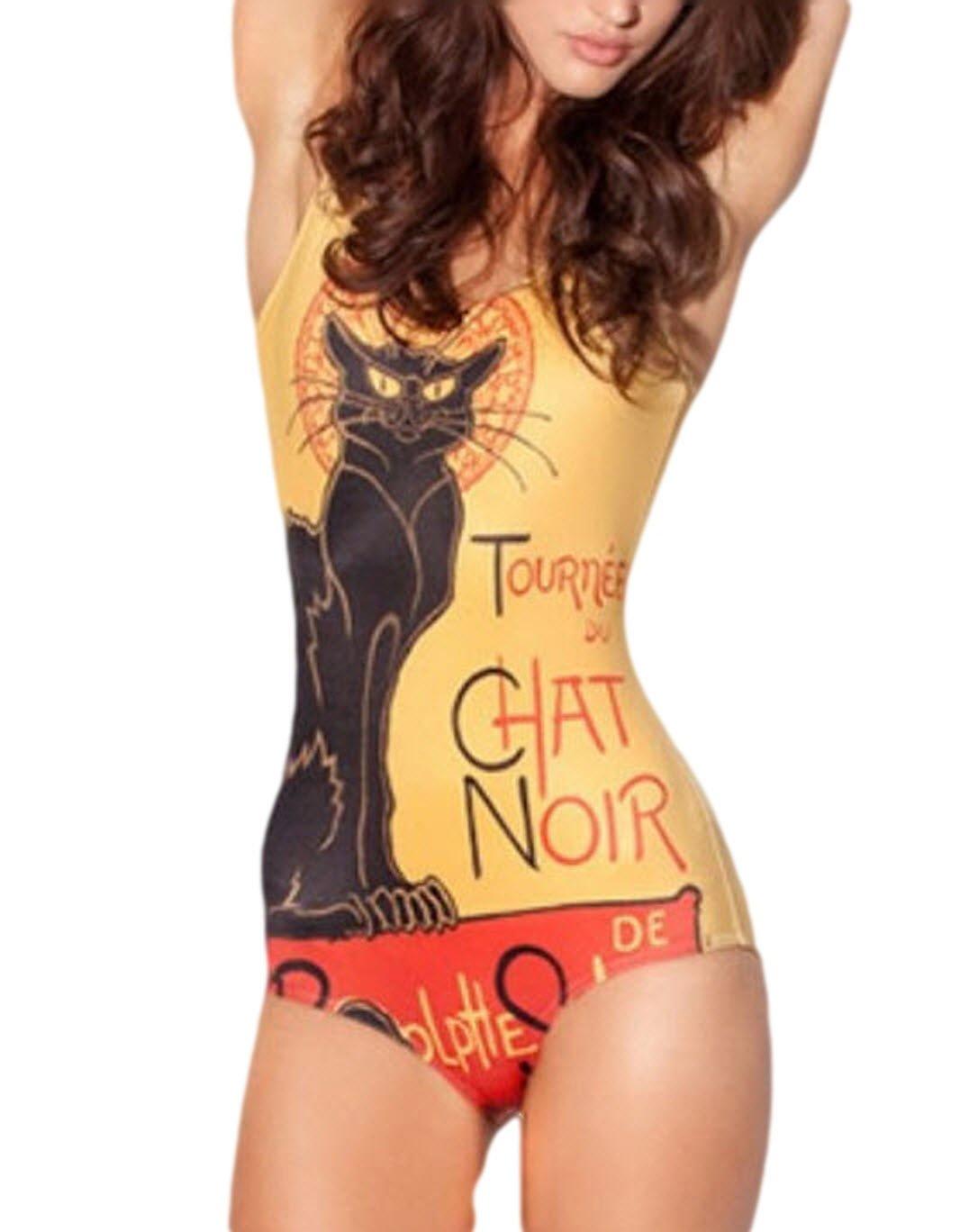 Le Chat Noir One Piece Bikini GOMOSWIM