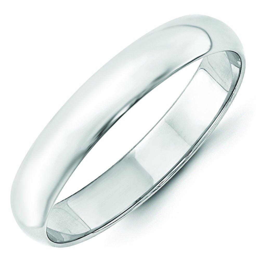 e5c06fed7ec 4mm 14K White Gold Wedding Band Ring Men's Women's Also Thumb Ring (10)