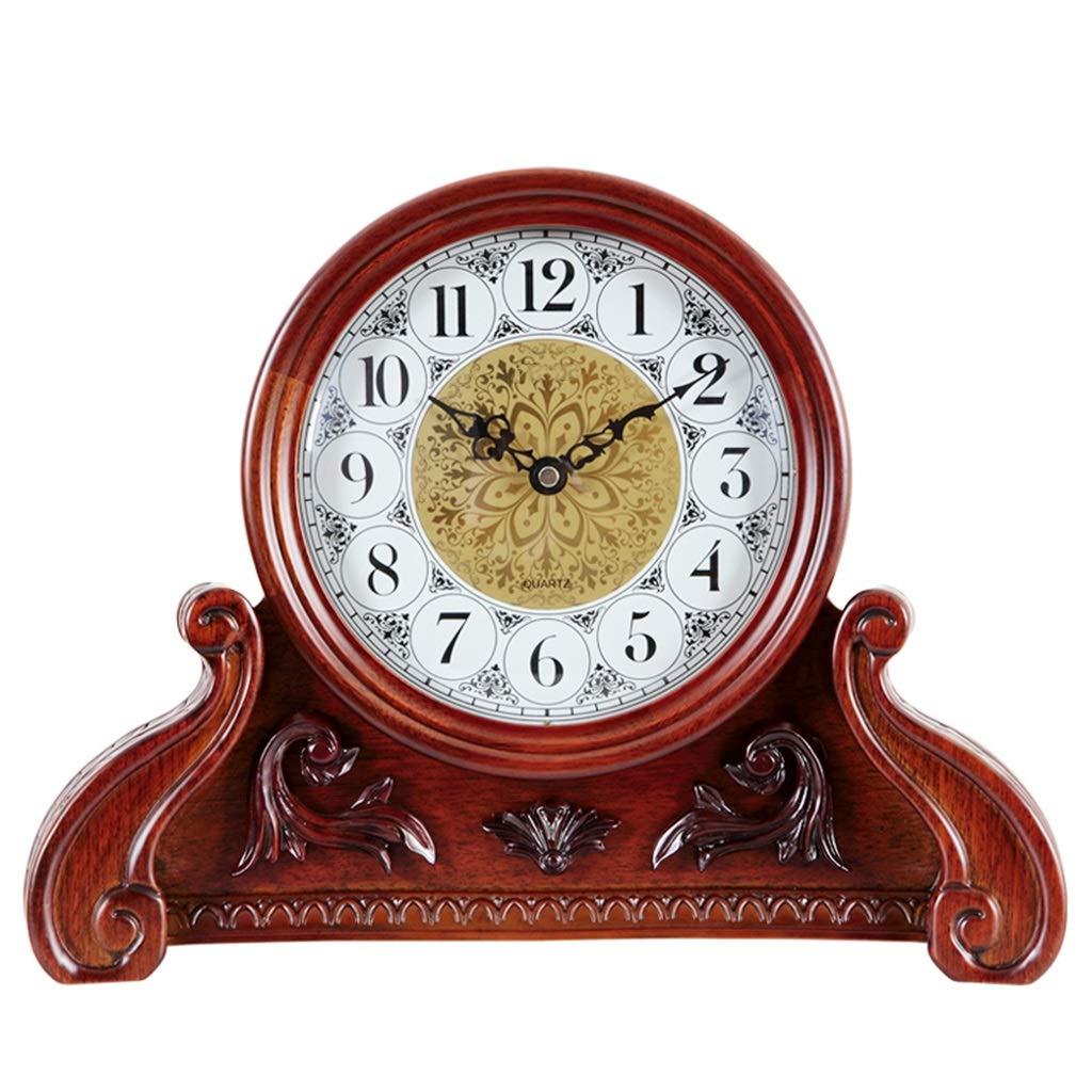 LYM $ Reloj Despertador Digital Relojes de Mesa para la Sala de Estar Decoración Relojes de Escritorio Antiguos Funciona con Pilas Retro Dormitorio ...