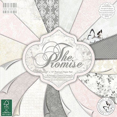 Trimcraft The Promise First Edition Premium Paper Pad (48 Pack), 12' by 12' 12 by 12 FEPAD090