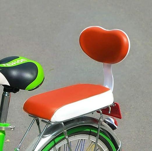 QXFJ Silla Bicicleta NiñO,Asiento Trasero De Bicicleta Asiento ...