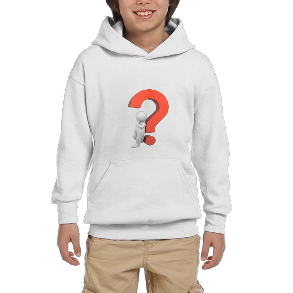 Quliuwuda Teen Little White People Thinking About The Problem Classic Running Black Fleeces