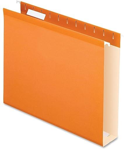 Pendaflex colores fondo de la caja para colgar carpeta: Amazon.es: Oficina y papelería