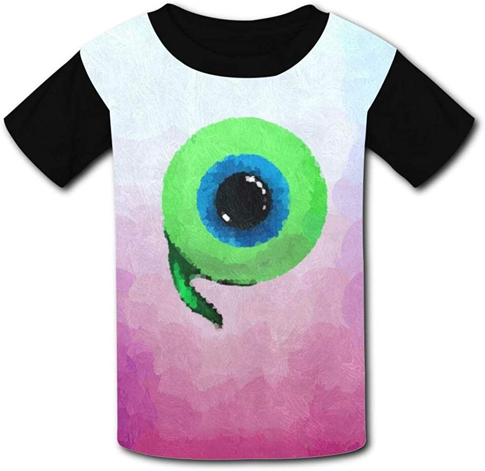 Kid//Youth Jack-Septic-Eye Like A Boss T-Shirts 3D Short Sleeve Tees for Girls Boys