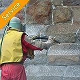 Exterior Surface Sandblasting - 2000-4000 square feet