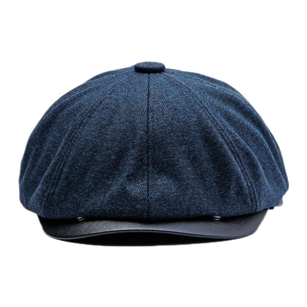 eb6ceeba30 Kentop Gorra de Fieltro Retro Sombrero de Deport al Aire Libre Primavera  Otoño Invierno para Unisex