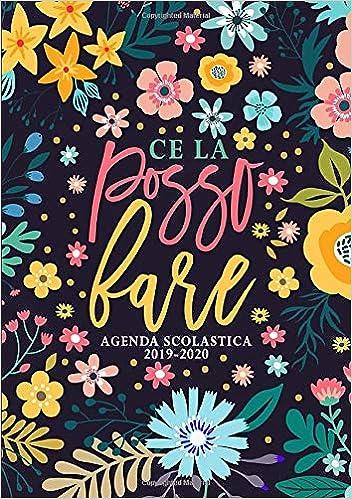 Ce la posso fare: Agenda scolastica 2019-2020: 1 settembre ...