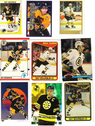 Ray Bourque Boston Bruins Hockey Card Lot Bruins Hockey Card