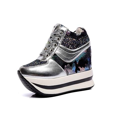 04f3b65273841 Amazon.com: ASO-SLING Womens Wedges Platform Sneaker Flat Wedge ...